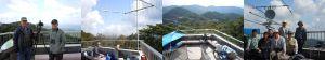 美祢市桜山移動運用のアマチュア無線とバードウォッチング