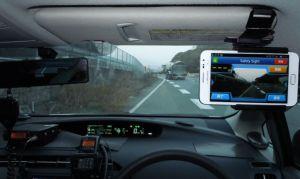 スマフォのアプリ「Safety Sight」ドライブレコーダー