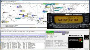 APRS(JE4YKJ-10)とWiers-X(YG-JE4YKJ)